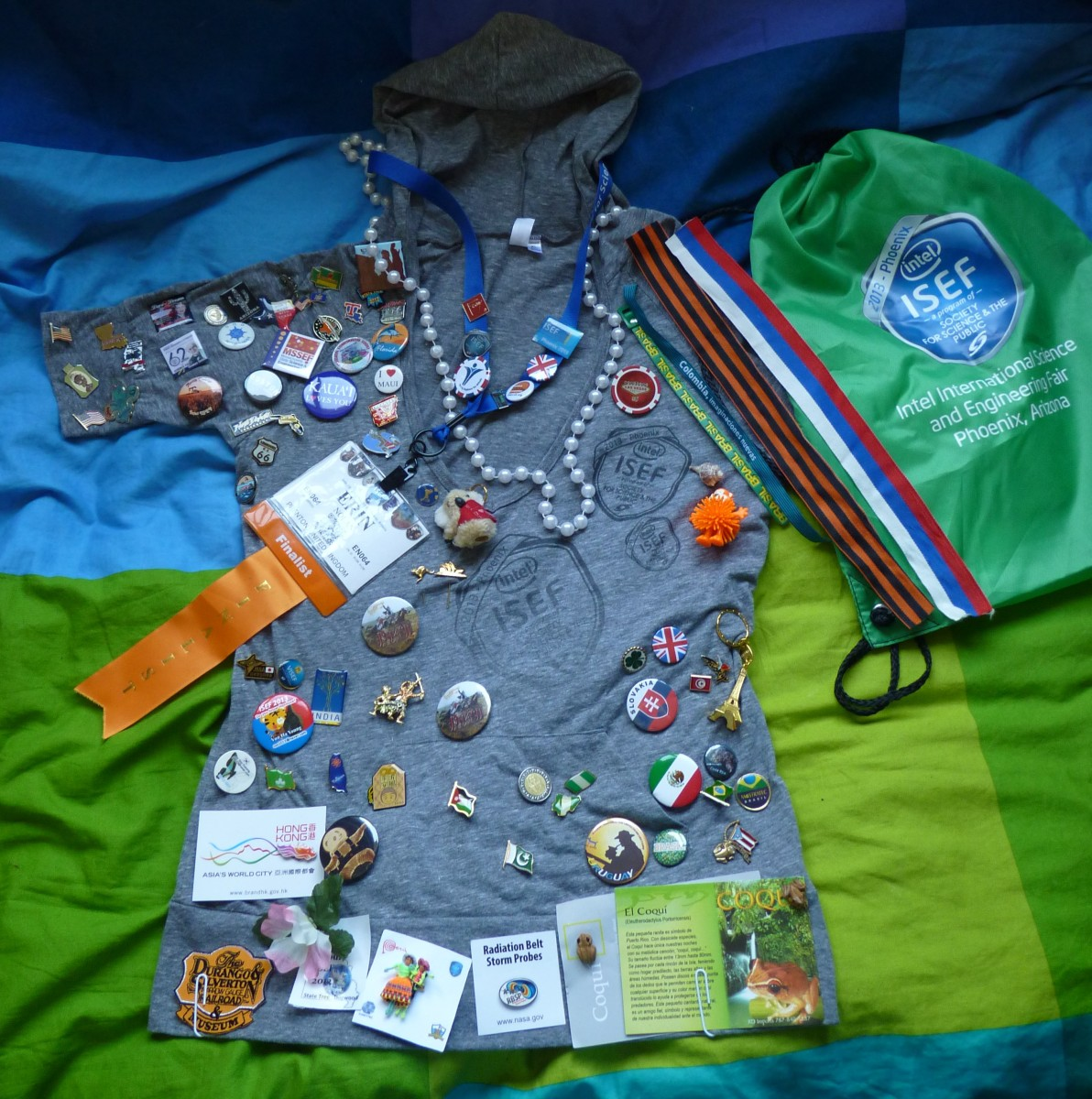ISEF Badges & Other Things