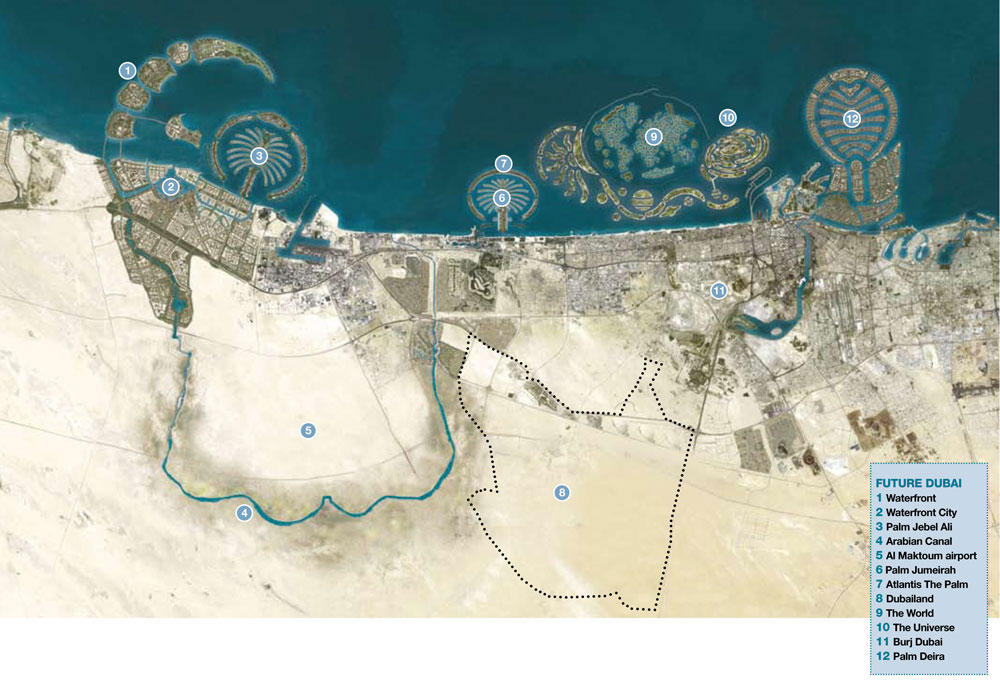 Dubai map google earth gumiabroncs Gallery