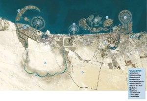 DUBAI-map-and-legend