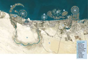 DUBAI-map-and-legend