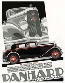 art deco posters-panhard,1932-lordprice_co_uk