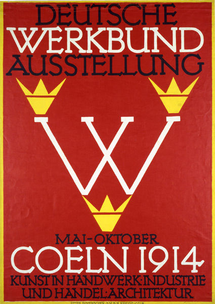 ... Brief Guide To Design Movements u2013 Deutscher Werkbund : Blue Pigeons