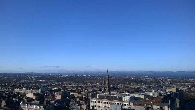 A view of Edinburgh from Scotts Monument